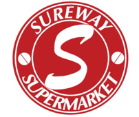 A theme logo of Sureway Supermarket